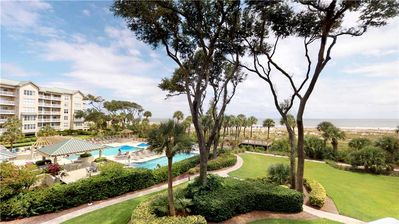 Photo for Beautifully Updated Two Bedroom Oceanfront Condo!