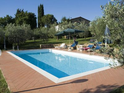 Photo for Apart. (5/6 pers.) near Greve in Chianti with REALLY PRIVATE SWIMMING-POOL only for you!!!