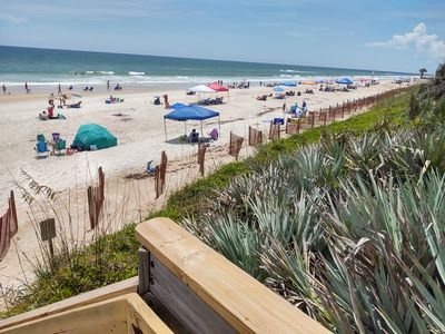 Photo for Beach access and luxury condo amenities in gated community