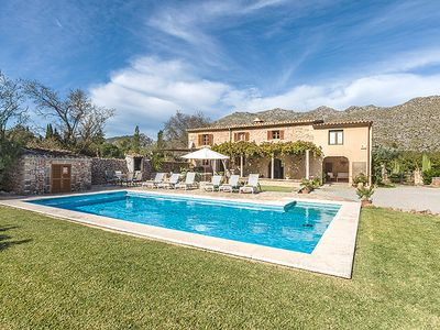 Photo for Picturesque Villa Jardinia for 6 guests, only 2km to Old Town Pollensa and 4km to the beach!