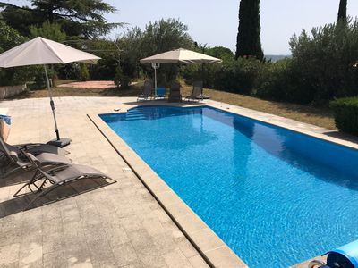 Photo for Superb house 10 minutes from Avignon to discover Provence. Exceptional view!