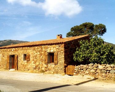 Photo for Charming house made of stone. It is 50 m away from the beach & 150m from Galéria
