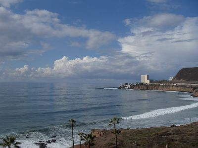 Photo for Ocean Front Penthouse Condo on South Rosarito's Best Coastline