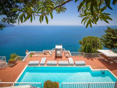 Photo for Villa Carla is an amazing 4 bedroom villa overlooking the Amalfi Coast - Best Rates available !!