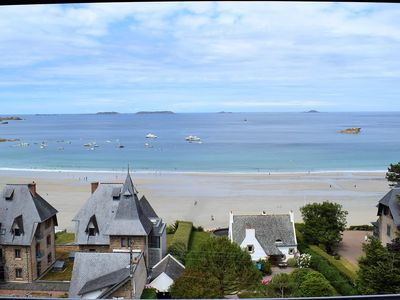 Photo for Beautiful apartment renovated in 2018 SEA VIEW with free WIFI in PERROS-GUIREC