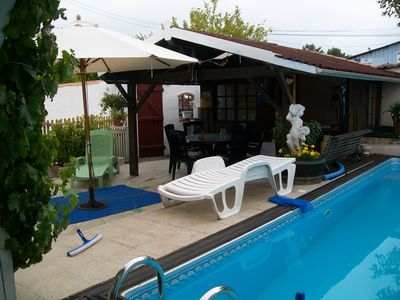Photo for Small house with private pool