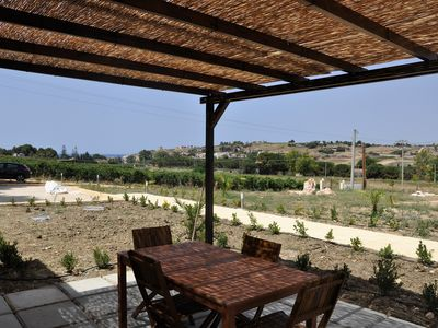 Photo for Case Barrera. Gurra di Mare: Overview just minutes from the beach