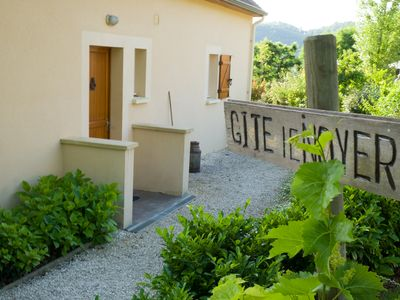 Photo for Le Noyer: Luxury and quietly situated gite at 'maison' with use of large swimming pools.