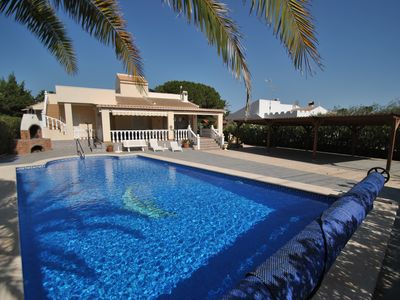 Photo for Family Holidays in comfortable villa with private pool and heated