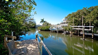 Photo for North End Home Near Pine Ave w/ Heated Pool and Spa, Private Dock & More!
