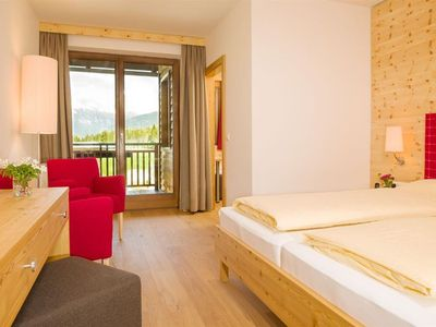 """Photo for Double room """"Obstgartl"""" - Kreuzwirt, family hotel"""