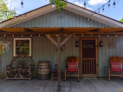 Photo for Authentic Western Bunkhouse - Twin Oaks Ranch
