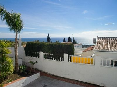 Photo for Beautiful Apartment with Shared Pool, Sea Views and Private Parking
