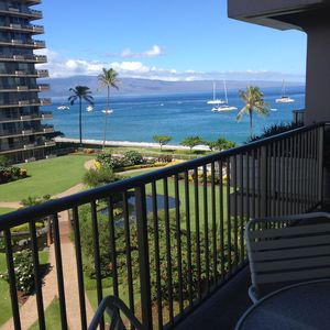 Photo for fabulous Oceanview SUNNY side inside courtyard! CLEAN