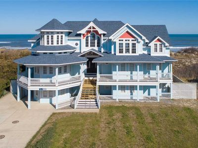 Photo for #4011: OCEANFRONT in Corolla w/HeatedPool, HotTub, Elev., Theater & RecRm