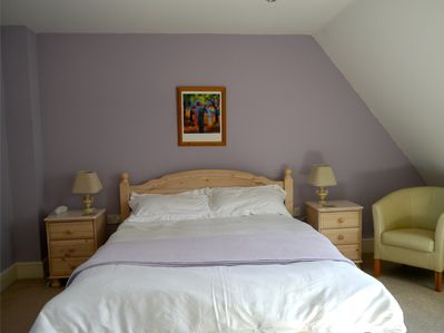 Dual aspect master bedroom with ensuite