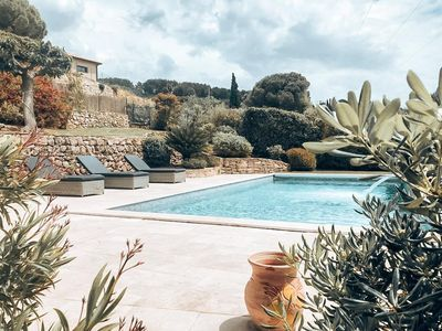 Photo for Villa on the heights of Sanary-sur-mer