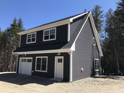 Photo for Acadia Studio New Construction! Modern hotel feel in the quaint Maine woods