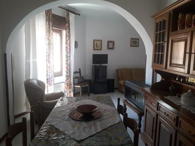 Photo for Large furnished apartment, located in the historic center and 3km away from the sea