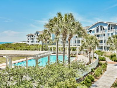 Photo for Executive Access Home! Gulf Views! Steps from Beach and Community Pool!