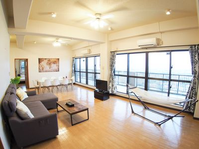 Photo for UR1 Superb view ocean view ☆ Spacious 140 square meter 3LDK, up to 12 people
