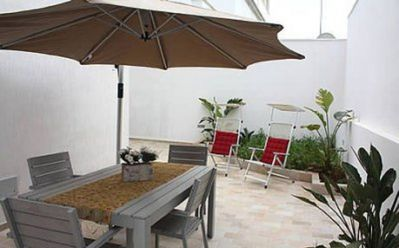 Photo for Holiday Apartment in Central Location with Terrace & Only a Few Meters from the Beach; Parking Available, Pets Allowed