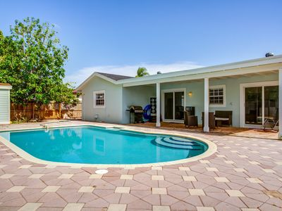 Photo for West Boca 4 Bedrooms 3 baths Heated Pool