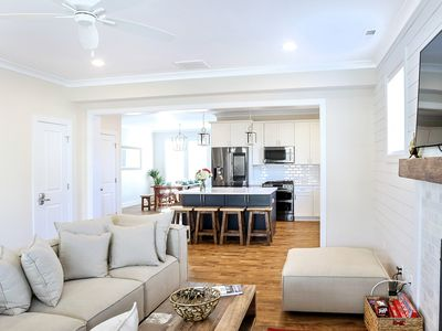 Photo for Glamorous New Home 3 Minute walk to the Beach!