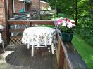 Deck beside Living Room