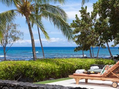 Photo for NOW OPEN FOR HI RESIDENTS! 115 FT OCEANFRONT PRIVATE LUXURY PUAKO ESTATE