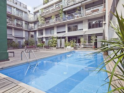Photo for Pool and Terrace Apartment in the Center of Barcelona