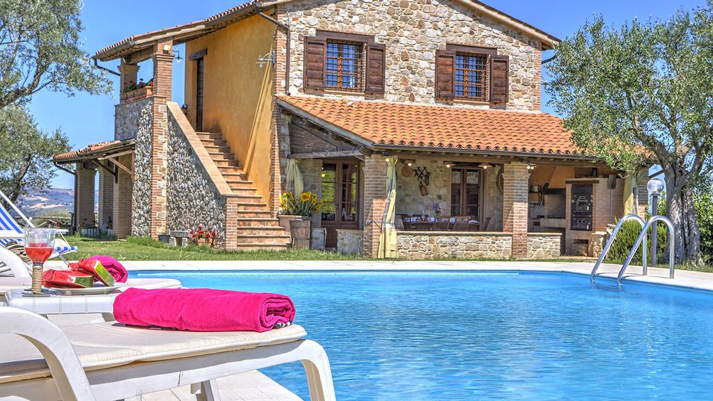 La quiete 6 2 sleeps villa with private po homeaway for Portico uruguay