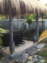 House with Jaccuzi 250 meters walk from the beach