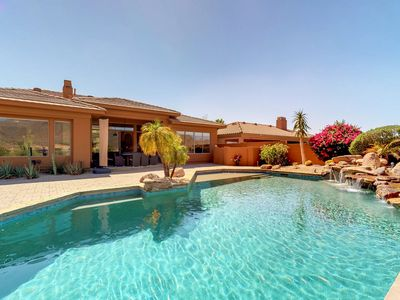 Photo for NEW LISTING! Gorgeous home w/pool, terrace & mountain view-near golf/restaurants