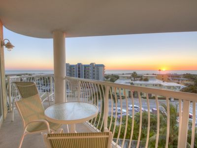 Photo for Fantastic Views from Balcony. Excellent Location. Beautiful Property Directly Across from the Beach!