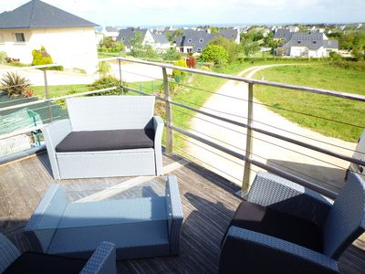 15m² furnished balcony