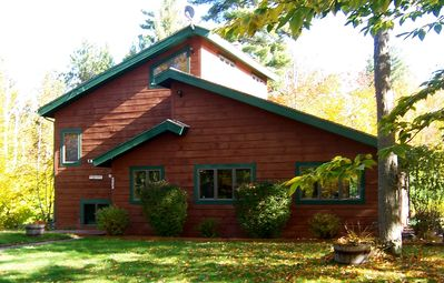 Photo for Escape to peace and quiet on a secluded and rustic retreat on 22 wooded acres!