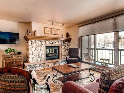 Photo for Great ski-in/ski-out family getaway offering a shared pool and hot tub