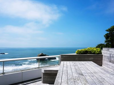 Photo for Apartment * big terrace & overviewing the Miramar beach
