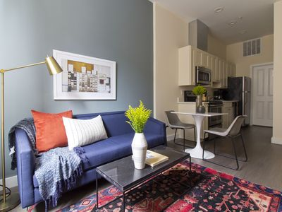 Photo for Sonder | Winthrop Square | Vibrant 1BR + Laundry