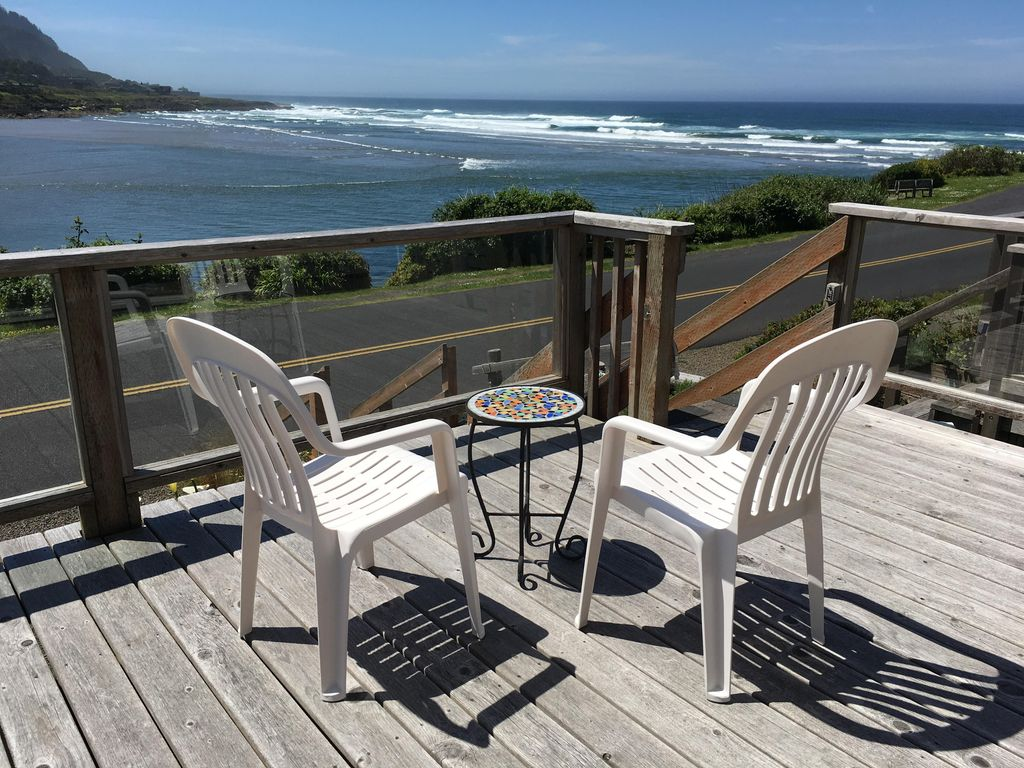 Best Oceanview in town! Watch the Whales spout from our deck! Walk ...