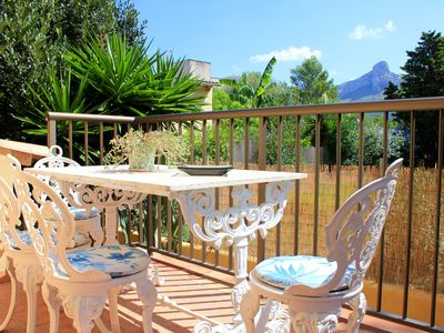 Photo for House with garden, BBQ and air conditioning 100 meters from the beach for 6 pax.