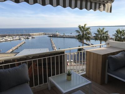 Photo for Cannes apartment sea view