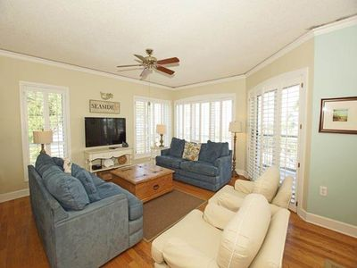 Photo for 3309 Windsor Court: 4 BR / 4 BA oceanfront villas in Hilton Head Island, Sleeps 8