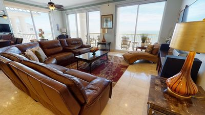 Photo for Stunning 5 Bedroom Condo With Direct Gulf Views!