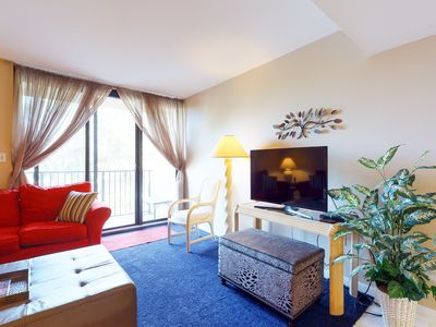 Photo for Family-friendly townhouse w/ shared pool & hot tub, lagoon view, and more!