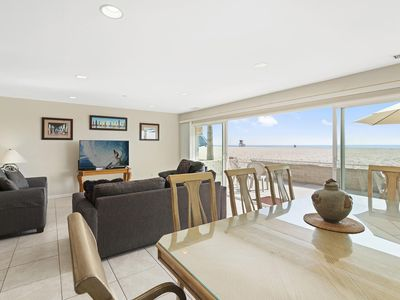 Photo for Immaculate Oceanfront Vacation Beach Home (lower unit)