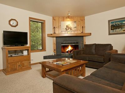Photo for Charming, Renovated 1 Bedroom Condo With Fireplace