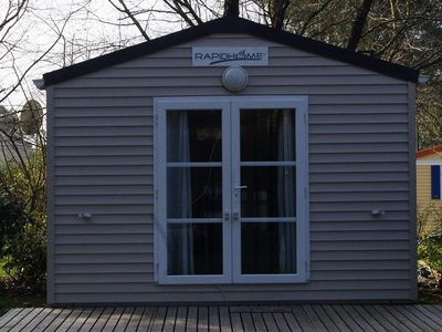 Photo for Camping Hermitage *** - Mobil Home Confort 2 Rooms 2/3 People