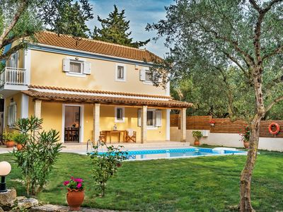 Photo for Villa Kardaris, an elegant 3 bedroom villa with private pool surrounded by trees